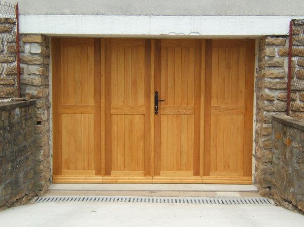 Menuiserie DESPRES - Porte de garage a la francaise