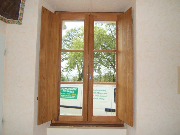 Menuiserie despres for Volets interieurs isolants
